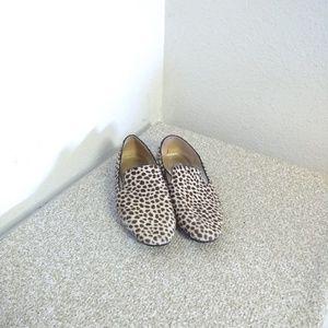 Jimmy Choo London Leopard Print Loafers